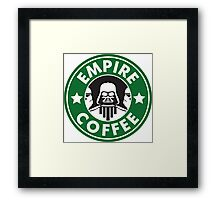 Empire Coffee Framed Print
