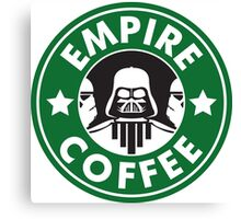Empire Coffee Canvas Print