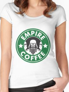 Empire Coffee Women's Fitted Scoop T-Shirt