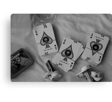 Ace ♠ Canvas Print