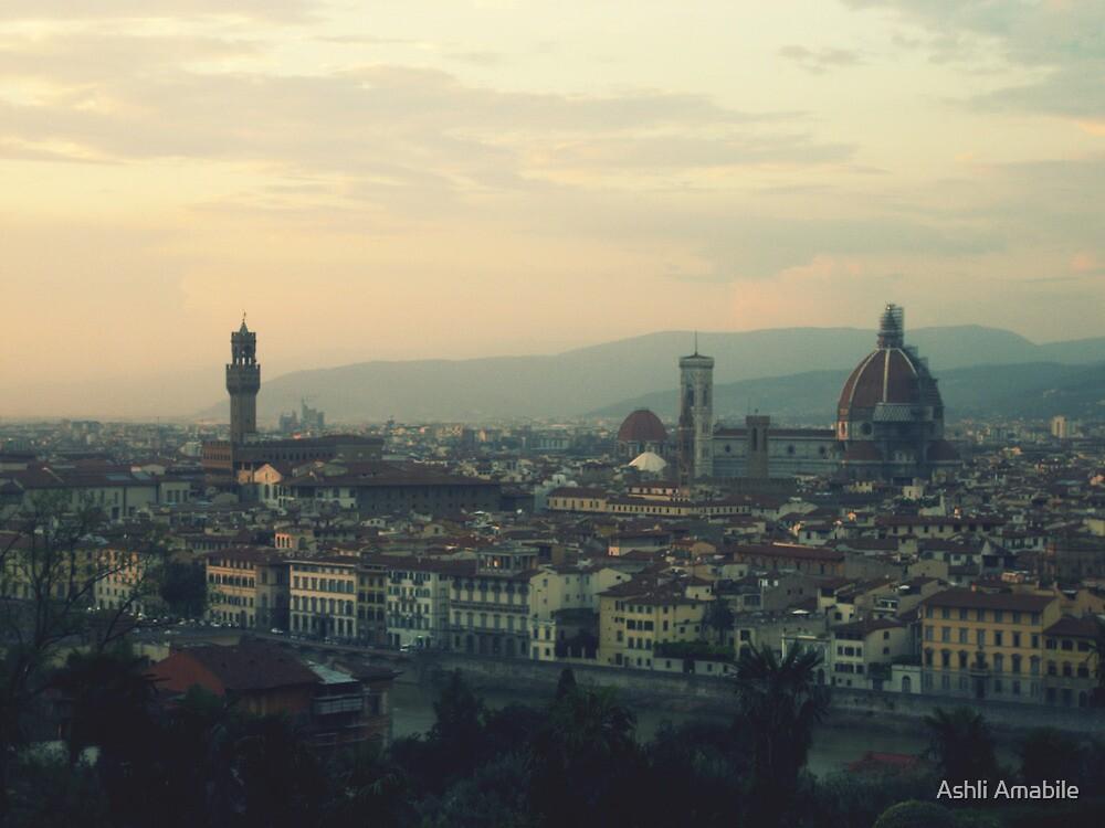 View of Firenze by Ashli Amabile