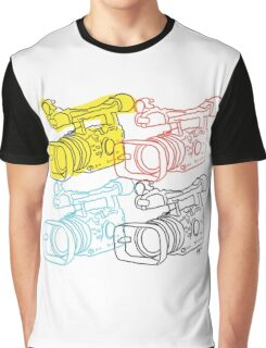 Primary Camera Grid Graphic T-Shirt