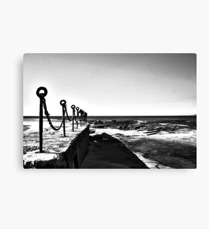 Newcastle Baths Chain Canvas Print