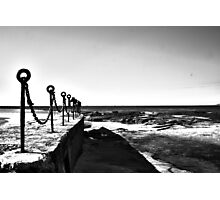 Newcastle Baths Chain Photographic Print