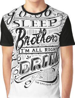 Drive - The Gaslight Anthem Graphic T-Shirt
