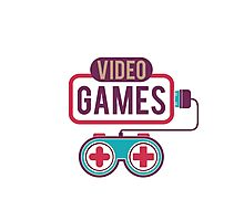 Video Games Photographic Print