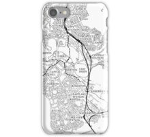 Canberra Railway Stations and Lines iPhone Case/Skin