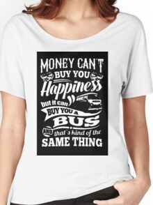 Happiness is a bay bus Women's Relaxed Fit T-Shirt