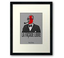 La Façade Libre Framed Print