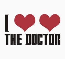 I Heart Heart The Doctor - Doctor Who by CalumCJL