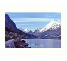 Norwegian Fiord #2 Art Print