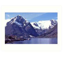Norwegian Fiord #3. Art Print