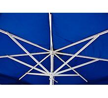 Umbrella Ribs Photographic Print