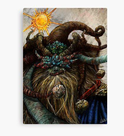Wishta Fool Tarot  Canvas Print