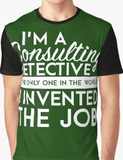 Sherlock - Consulting detective Graphic T-Shirt
