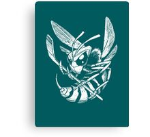 Hockey Hornet Canvas Print