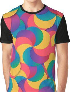 Spiral Mess Graphic T-Shirt