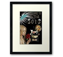 ✿◕‿◕✿  ❀◕‿◕❀ WELCOME TO THE YEAR 2012 ✿◕‿◕✿  ❀◕‿◕❀    Framed Print