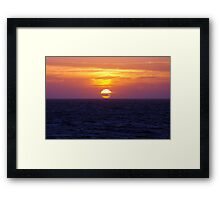 Awesome Ball Framed Print