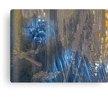 Rust & Blue Canvas Print