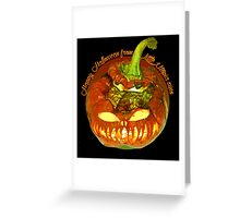 Happy Halloween from Little Utopia Greeting Card