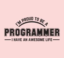 i am proud to be a programmer One Piece - Short Sleeve