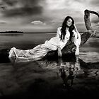 Shimmering Venus B&W by Michael Howard