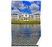 HDR Parliament House Poster