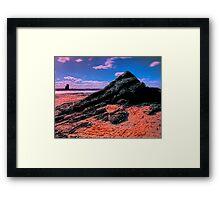Twin peaks Framed Print