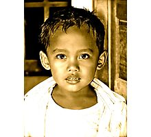 The Children of Bali Photographic Print