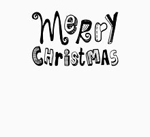 Merry Christmas - Text Design #02 Unisex T-Shirt