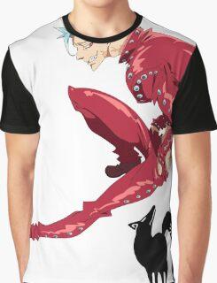 Nanatsu no Taizai Ban Graphic T-Shirt