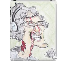 Howard Stern Zombie Caricature iPad Case/Skin