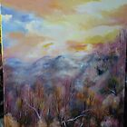 Clingmans Dome Painting by JeffeeArt4u