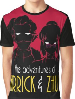 The Adventures of Varrick & Zhu Li Graphic T-Shirt