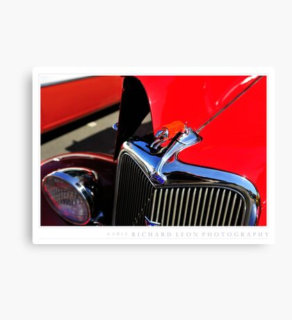 Alameda Car Show • A Year in Review Canvas Print