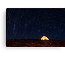 Haleakala Star Trails Canvas Print