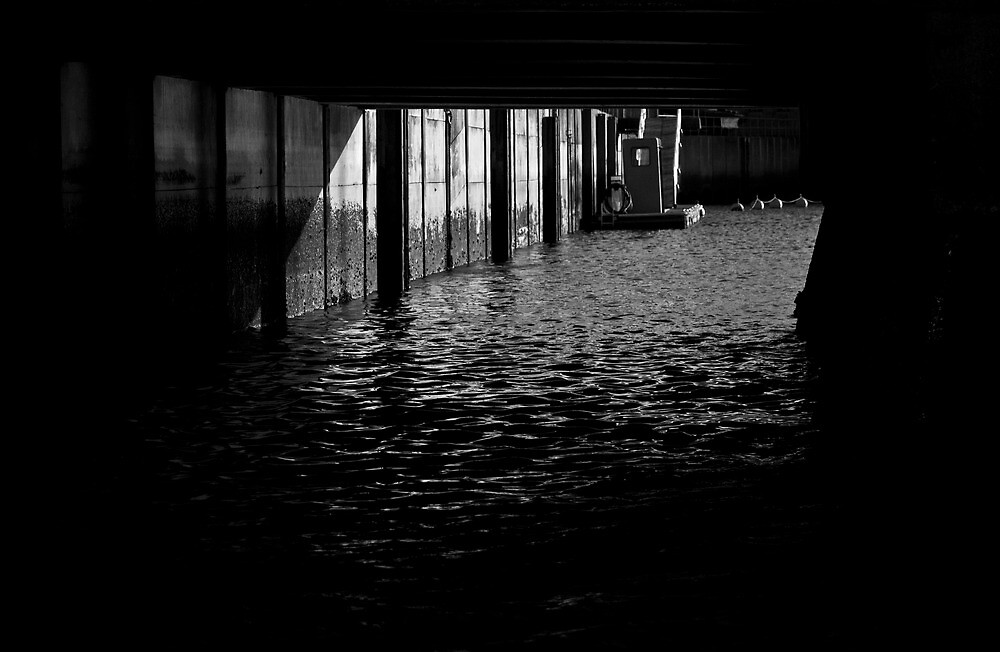 Under the Pier by Chris Cardwell