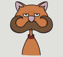 Moustache Cat by ComradeMax