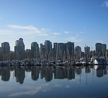 Reflection, Vancouver BC by justineb