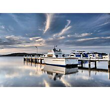 Swansea Wharf - Swansea NSW Australia Photographic Print
