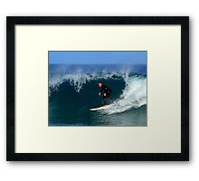 """In the Moment"" Framed Print"