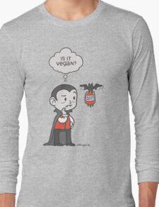 Vegan Vampire Long Sleeve T-Shirt