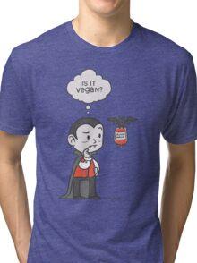 Vegan Vampire Tri-blend T-Shirt