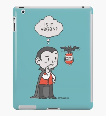 Vegan Vampire iPad Case/Skin