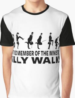 Certified Member Of The Ministry Of Silly Walks Graphic T-Shirt