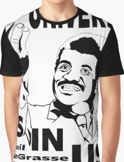 The Universe Is In Us - Neil DeGrasse Tyson T Shirt Graphic T-Shirt
