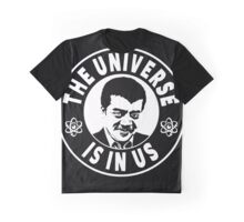 The Universe Is In Us - Neil DeGrasse Tyson  Graphic T-Shirt