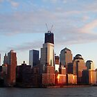 Freedom Tower, NYC by Nella Khanis