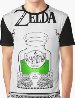 Zelda legend Green potion Graphic T-Shirt